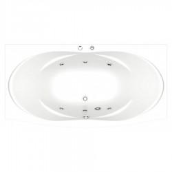 Акриловая ванна Bas Фиеста 194 см с г/м