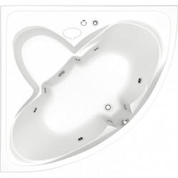 Акриловая ванна Bas Дрова 160 см с г/м