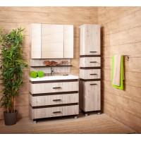 Комплект мебели Бриклаер Техас 100 Дуб кантри/венге