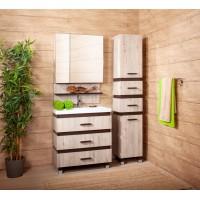 Комплект мебели Бриклаер Техас 70 Дуб кантри/венге