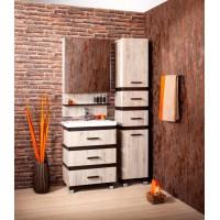 Комплект мебели Бриклаер Техас 60 Дуб кантри/венге