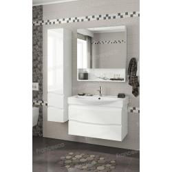 Комплект мебели подвесной Francesca Forte 85, белый