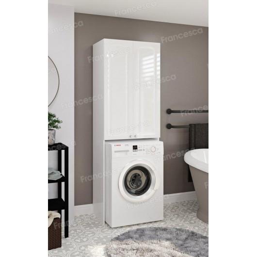 Шкаф напольный для стиральной машины Francesca Империя 67 белый