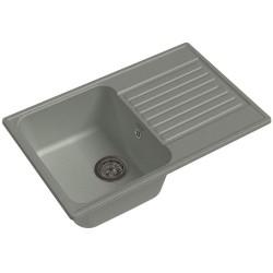 Мойка кухонная Raiber Актерман RQ144 прямоугольная с крылом, бетон