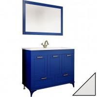 Комплект мебели Sanflor Ванесса 105 напольная, белая