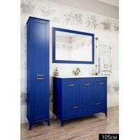 Комплект мебели Sanflor Ванесса 105 напольная, индиго