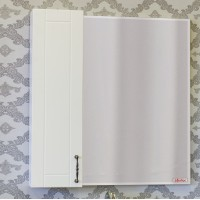 Зеркало-шкаф Sanflor Глория 65 L, белый