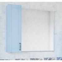 Зеркало-шкаф Sanflor Глория 85 L, серый