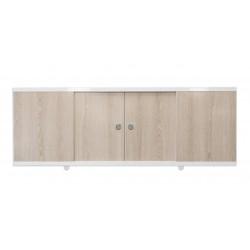 Экран под ванну раздвижной створки беленый дуб 148 см