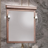 Зеркало Opadiris Борджи 85 светлый орех