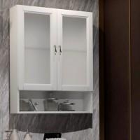 Шкаф Opadiris Клио 63 белый матовый, матовое стекло