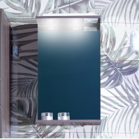 Зеркало Бриклаер Кристалл 40, ясень анкор темный
