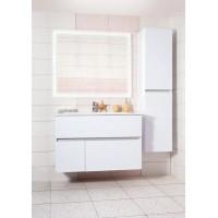 Комплект мебели Бриклаер Мальта 105, белый глянец
