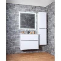 Комплект мебели Бриклаер Мальта 75, белый глянец