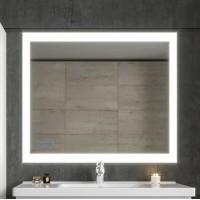 Зеркало Бриклаер Вега 100 с подсветкой и часами