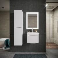 Комплект мебели Бриклаер Вега 50, белый глянец