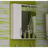 Шкаф-зеркало Francesca Доминго 65 С белый