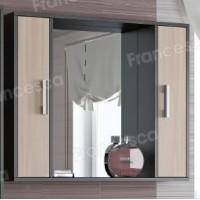 Шкаф-зеркало Francesca Eco 90 дуб-венге