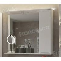 Зеркальный шкаф Francesca Фиоре 80