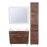 Комплект мебели Style Line Атлантика 100 Люкс Plus напольный старое дерево