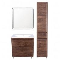 Комплект мебели Style Line Атлантика 80 Люкс Plus напольный старое дерево