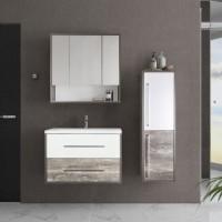 Комплект мебели Style Line Экзотик 80 Plus подвесной, белая, экзотик