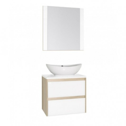 Комплект мебели Style Line Монако 60 Люкс Plus, белый лакобель