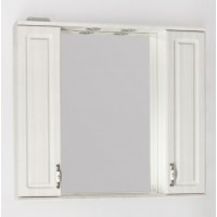 Зеркало-шкаф Style Line Олеандр 2 90 рельеф пастель