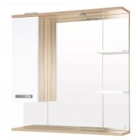 Зеркало-шкаф Style Line Ориноко 80/С белый