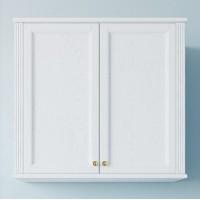 Шкаф ValenHouse Лиора 90 белый, фурнитура золото