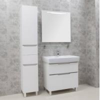 Комплект мебели AQUATON Дакота 80 белый/выбеленное дерево
