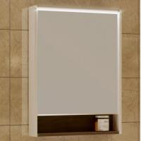 Зеркало-шкаф AQUATON Капри 60 таксония темная, с подсветкой