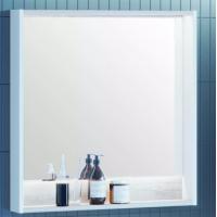 Зеркало AQUATON Капри 80 с подсветкой, бетон пайн