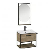 Комплект мебели AQUATON Лофт Фабрик 65 дуб кантри