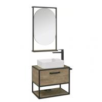 Комплект мебели AQUATON Лофт Фабрик 65 дуб кантри со столешницей