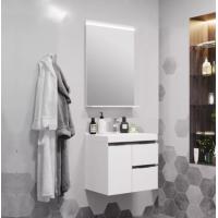 Комплект мебели AQUATON Рене 60 белый, грецкий орех