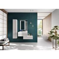 Комплект мебели AQUATON Сакура 80 L, ольха наварра, белая