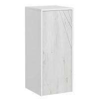 Шкаф AQUATON Сакура ольха наварра, белый, с бельевой корзиной