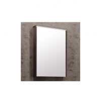 Зеркало-шкаф AQUATON Стоун 60 грецкий орех, с подсветкой