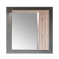 Зеркало-шкаф AQUATON Стоун 80 сосна арлингтон, с подсветкой