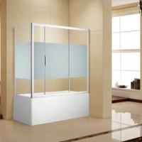 Шторка на ванну Aquanet Practic 160x75