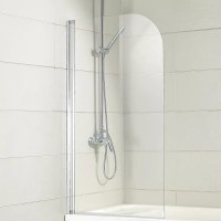 Шторка на ванну Bravat Alfa BG070.5110A-1
