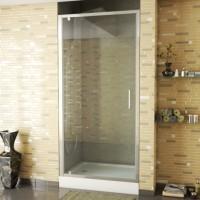 Душевая дверь в нишу Bravat Line BD100.4111A 100x200, распашная