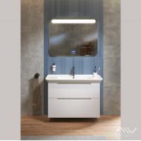 Комплект мебели Alavann Berta 105 белый зеркало largo 100