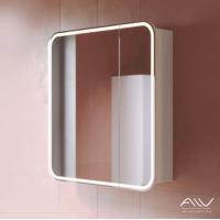 Зеркальный шкаф Alavann Lana 80 белый