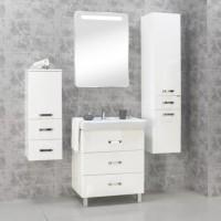 Комплект мебели Акватон Америна 70 М белая