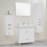 Комплект мебели Акватон Америна 80 Н белая