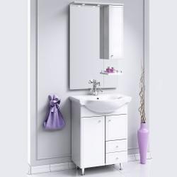Комплект мебели Aqwella Барселона Люкс 65 с бельевой корзиной