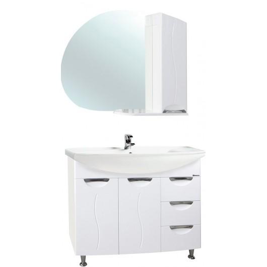 Комплект мебели Bellezza Глория 105 с бельевой корзиной