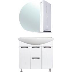 Комплект мебели Bellezza Глория 85 с бельевой корзиной